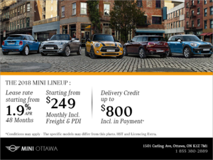 MINI's Monthly Sales Event