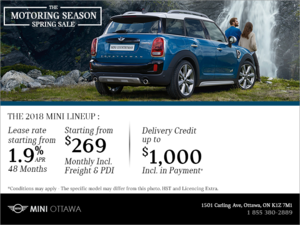 The Motoring Season Spring Sale
