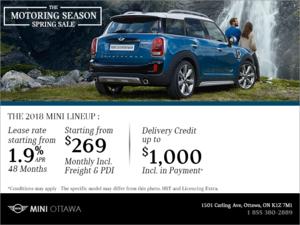 The Motoring Season Spring Sale