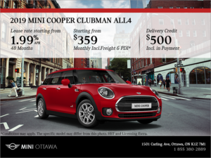 2019 MINI Clubman ALL4