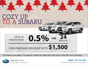 Subaru's Monthly Sales Event