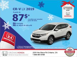 Louez le Honda CR-V 2019!