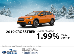 Get the 2019 Crosstrek today!