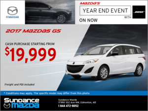Save on the 2017 Mazda5 Today!