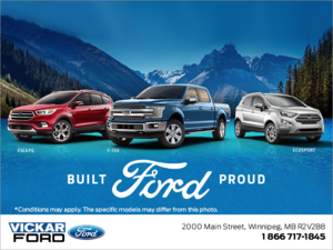 Built Proud Ford Event