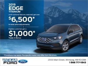 2019 Ford Edge!