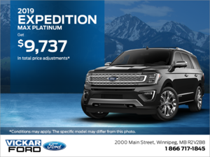 2019 Ford Expedition!