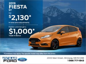 2019 Ford Fiesta!