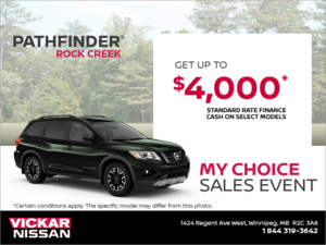 Get the 2019 Nissan Pathfinder Today! (Copy)
