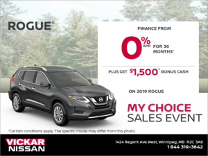 Get the 2019 Nissan Rogue Today! (Copy)