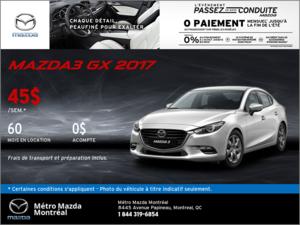 Voyez la Mazda3 2017