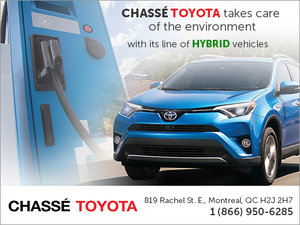 Hybrid Vehicles at Chassé Toyota