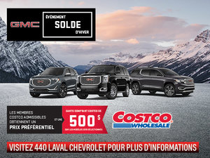 Programme Costco GMC