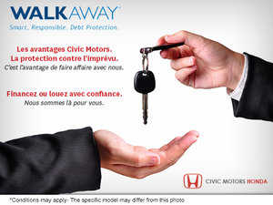 Programme WALKAWAY chez Civic Motors Honda