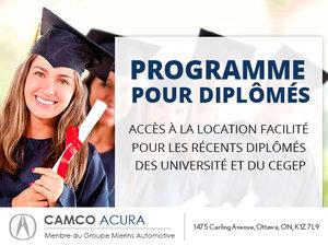 Camco Acura : Programme diplomés