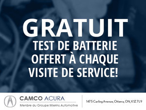 Test de batterie gratuit!
