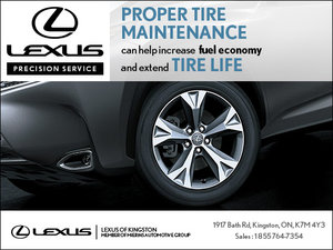 Increase the fuel economy and extend tire life!