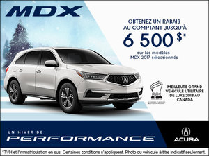 Conduisez l'Acura MDX 2017 aujourd'hui!
