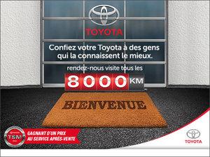 Ramenez votre Toyota à la maison!