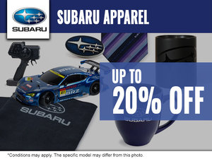 20% off Subaru Apparel