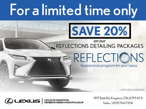 Get Your Reflections Detailing Package!