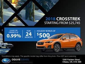 Get the 2018 Subaru Crosstrek