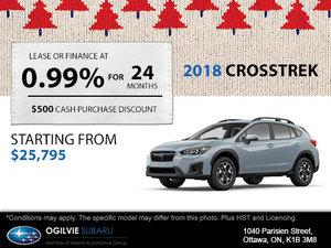 Get the 2018 Subaru Crosstrek