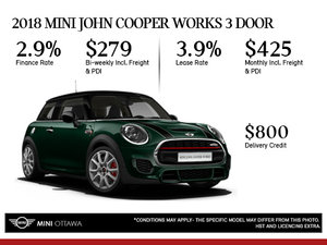 2018 MINI John Cooper Works 3 Door