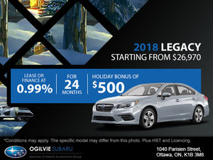Get the 2018 Subaru Legacy
