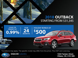 Get the 2018 Subaru Outback