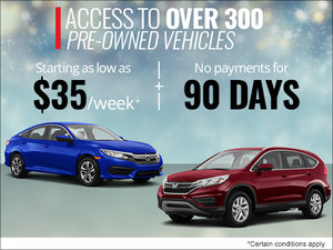 Over 300 Pre-Owned Vehicles