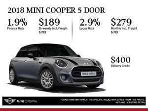 2018 MINI Cooper 5 Door