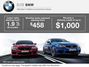 Monthly Sales Event at Elite BMW