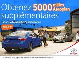 Obtenez 5000 milles Aéroplan supplémentaires!