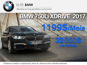 BMW 750Li xDrive 2017