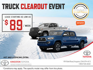 Truck Clearout Event