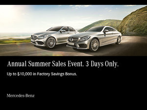 Annual Summer Sales Event