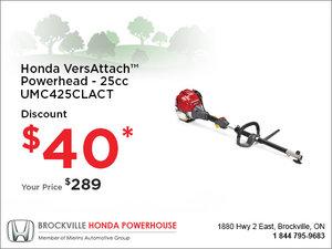 Honda - VersAttach Powerhead