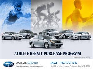 Athlete Rebate Purchase Program