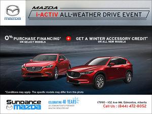 Mazda's i-ACTIV All-Wheather Drive Event