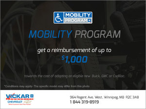 Vickar Chevrolet's Mobility Program