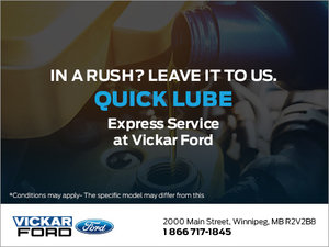 Quick Lube Service