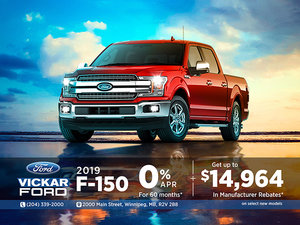 2019 Ford F-150 $14,964 in Savings!