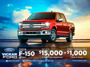 2019 Ford F-150!
