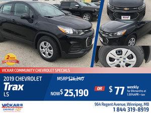 2019 Chevrolet Trax LS #KT3090