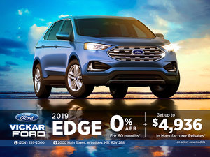 2019 Ford Edge $4,936 in Savings!