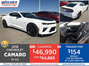 2018 Chevrolet Camaro SS 1LE #JC6642