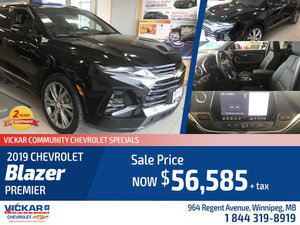 2019 Chevrolet Blazer at Vickar Community Chevrolet # KT4707