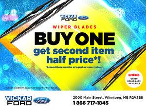 Vickar Ford Wiper Blade Special