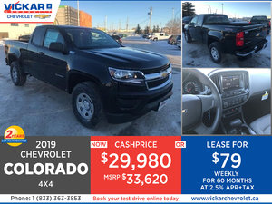 2019 Chevy Colorado 4X4 Stock # KT0030